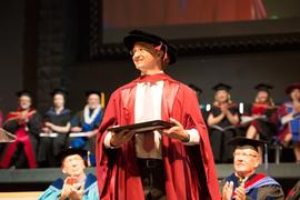 Professor Matthew Etherington at Grad 2013