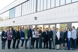 School of Nursing: China delegation