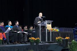 Stockwell Day speaking at Graduation 2012
