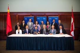 TWU and the Cihang Group sign an agreement for collaborative program delivery at TWU Richmond