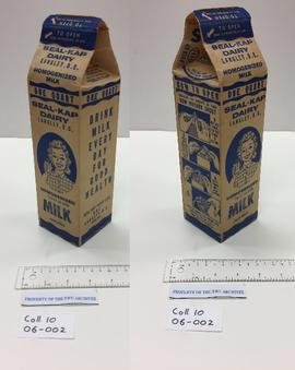 Seal-Kap Dairy Milk Carton
