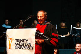 Graduation 2009 speaker, Marvin Kehler