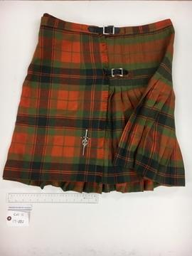 Kilt with Kilt Pin