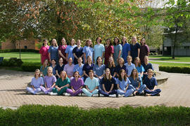 2004 graduating class of Nursing students