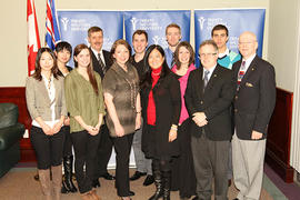 The Honourable Naomi Yamamoto, Minister of Advanced Education, visits campus