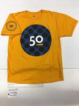 Yellow TWU 50th Anniversary T-Shirt
