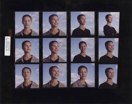 Annie Baxter Bradner- contact sheet