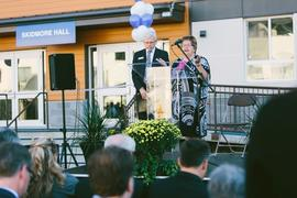 Skidmore Hall Dedication