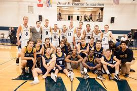 Spartans and Alumni basketball game