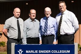 Dedication of the Marlie Snider Collegium