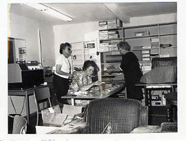 Office staff at work