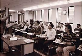 A seminary class in session
