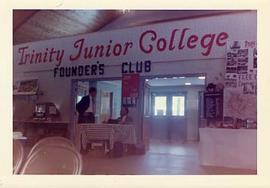 TJC Founders Club set up in a room