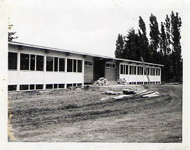 Construction of the Arts and Science Building
