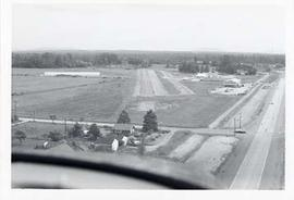 Aerial photograph of the Langley Municipal Aiport