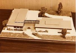 Scale model for the Arts and Science Building
