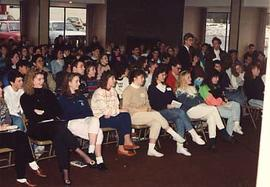 Prospective students during Insight 90