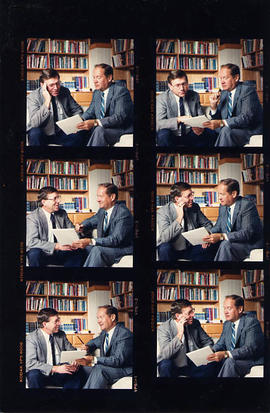 Neil Snider and Bert Friesen - contact sheet