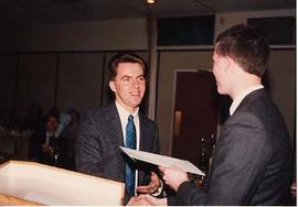 Stopforth presenting an award