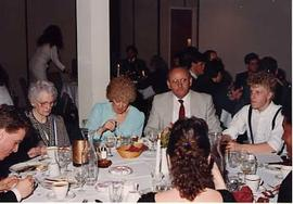 Students and other guests at a Wings Banquet
