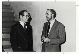 Dr. Snider and Carl Armending