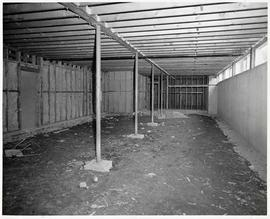 The interior of the original barn