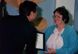 A Staff and Faculty Awards ceremony