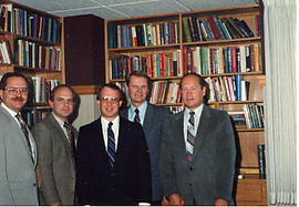 Group photograph of administrators