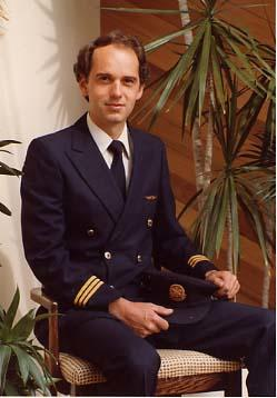 Arne Olson in uniform