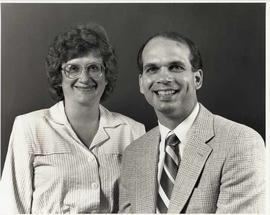 Vern Steiner and his wife in a promotional photograph