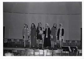 A women's sextet performing