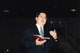 Bruce Fong, president of Michigan Theological Seminary