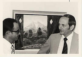 Arvid Olson and Harvey Ouellette