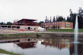 Construction of the Reimer Student Centre