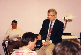 ACTS faculty member teaching in a classroom