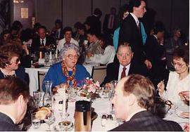 Robert and Hazel Thompson at the wings banquet