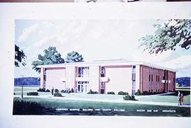 Architecture building rendering of the proposed science building.